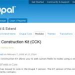 Модуль CCK для Drupal (видеокурс)