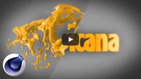 Сочная анимация из жидкости в текст (урок Cinema 4D)