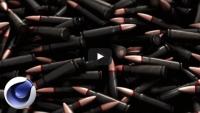 Фотореалистичная композиция из патронов (урок Cinema 4D)
