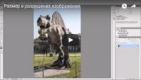 Размер и разрешение изображения (видеоурок)