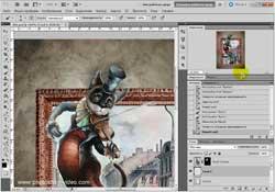 Рисуем коллаж в Photoshop CS
