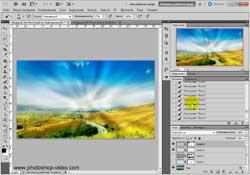 Создание фотоэффектов в Photoshop CS