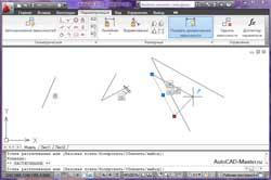 Параметризация чертежей AutoCAD 2010