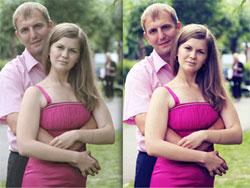 фото до и после тонирования