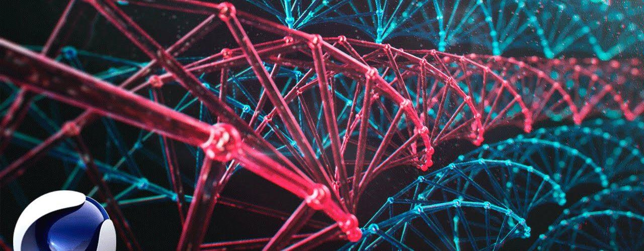 Массив атомов в Cinema 4D