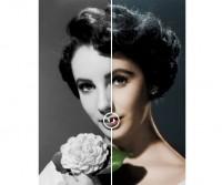 раскрасить любое чёрно-белое фото
