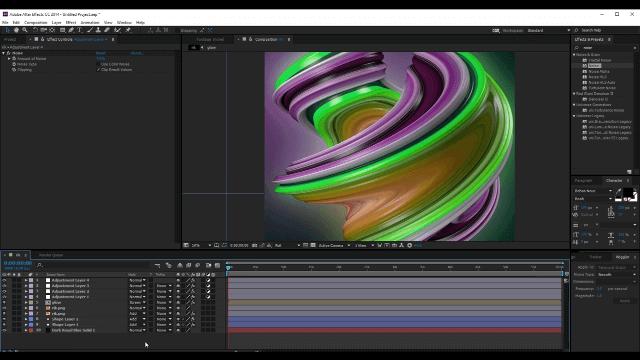 Эффектная фигура в Cinema 4D и After Effects