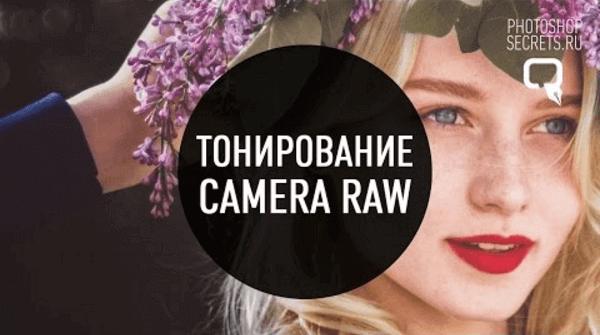 Тонирование фотографий в Camera Raw