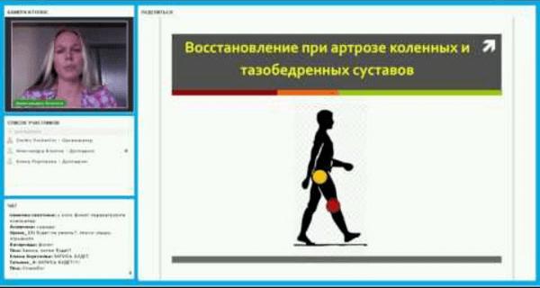 Восстановление при артрозе коленных и тазобедренных суставов