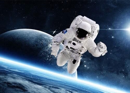 фотография с космонавтом