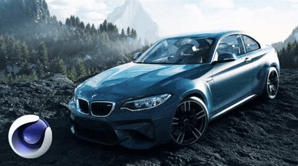 Создание эффектной 3D-композиции с автомобилем BMW в Cinema 4D