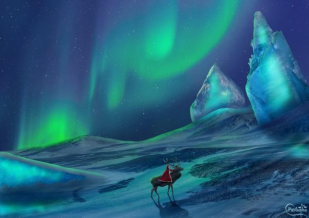 В царстве льда и снега