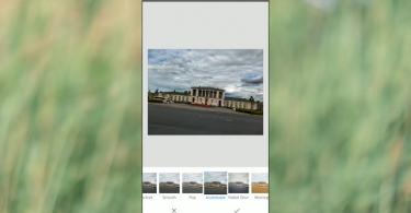 Обработка фотографии на смартфоне