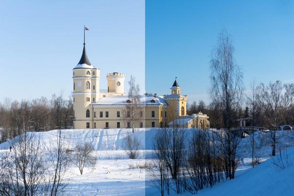 Пример обработки фото в Adobe Camera RAW