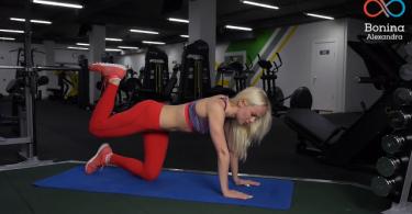 Упражнение для задней поверхности бедра и ягодиц
