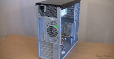 Подготовка корпуса к сборке компьютера