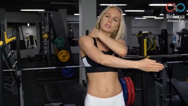 Растяжка мышц рук и плеч