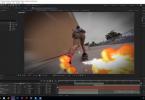 Огненный шлейф в After Effects