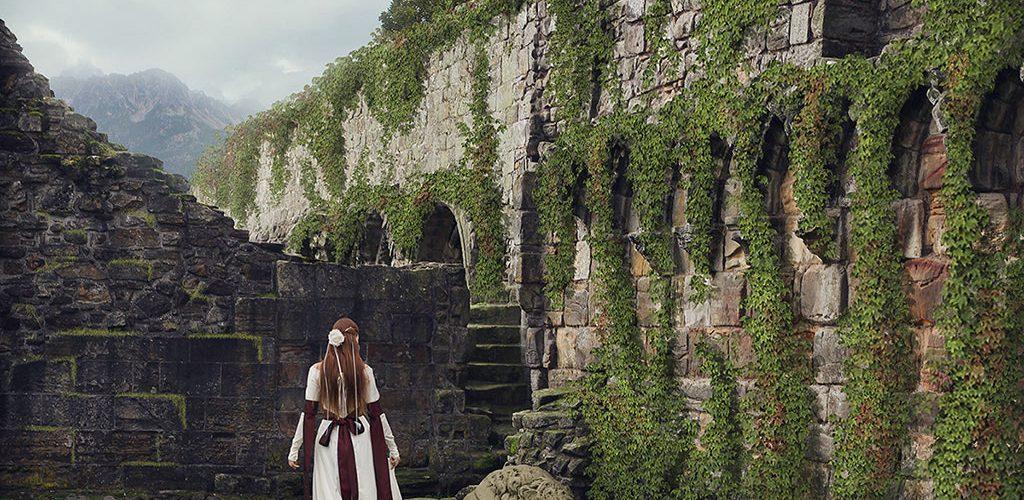 На развалинах старого замка