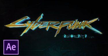 Заставка из игры Cyberpunk 2077